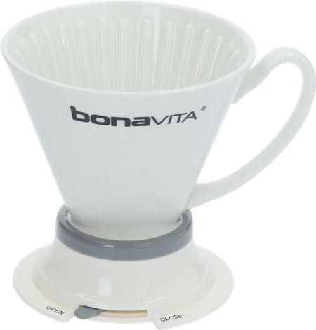 COFFEE DRIPPER OF CERAMIC BONAVITA 1-4