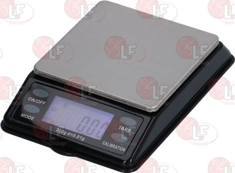 DIGITAL SCALE MTT 200 g