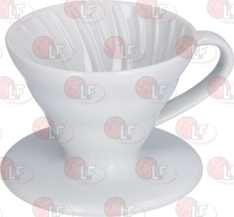 COFFEE DRIPPER OF CERAMIC HARIO 1-2 CUPS