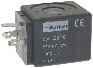 COIL PARKER ZB12 24VDC 12W