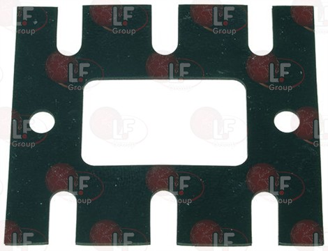 COFFEE GROUP GASKET 109x92x2 mm