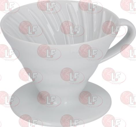 COFFEE DRIPPER OF CERAMIC HARIO 1-4 CUPS