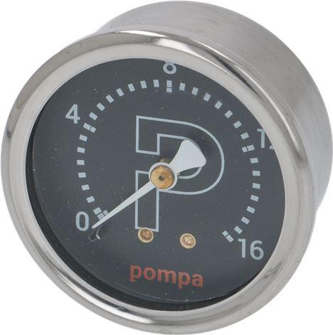 PUMP PRESSURE GAUGE ø 60 mm 0÷16 bar
