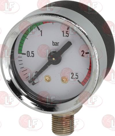BOILER PRESSURE GAUGE ø 41 mm 0÷2.5 bar