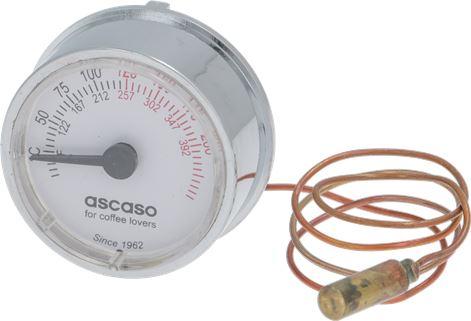 TELE-THERMOMETER WHITE ø 41 mm 0-200°C