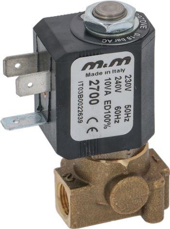 2-WAY SOLENOID VALVE M&M 230/240V 50Hz