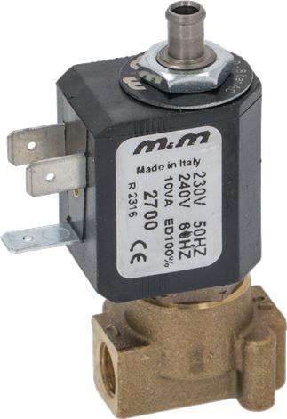 3-WAY SOLENOID VALVE M&M 230V 50Hz 10VA