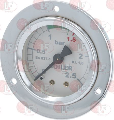 BOILER PRESSURE GAUGE ø 53 mm 0÷2.5 bar