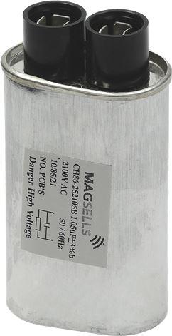 CAPACITOR µF 1,05 2100VAC