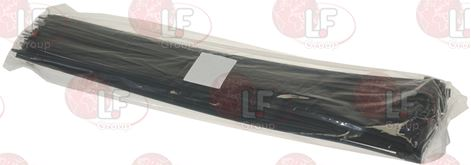 BLACK CLAMP 9x360 mm - 100 PCS