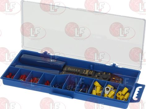 CRIMP FOR INSULATED CABLE LUGS 0.5÷6.0