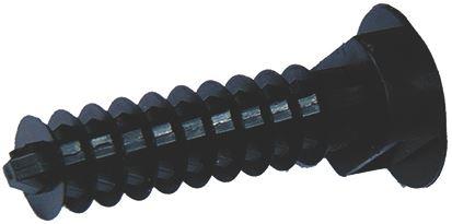 BLACK SELF-TAPP. SCREW EC9 M8 - 100 PCS