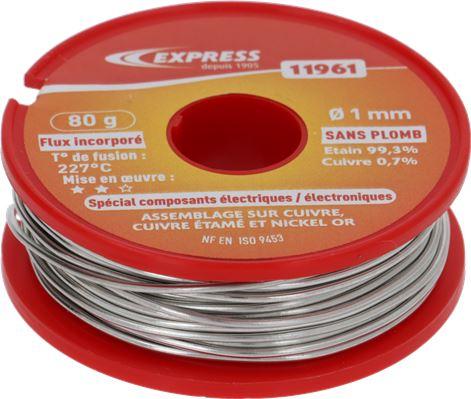 TIN WIRE 60% 100 g WIRE mm 1