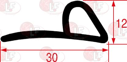 GASKET FOR OVEN DOOR 3000 mm