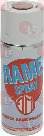 PAINT GLOSSY PROTECTIVE RAME SPRAY