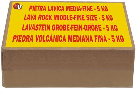LAVA ROCK MEDIUM kg 5
