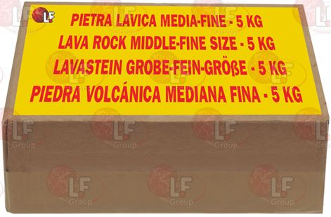LAVA ROCK MEDIUM kg 5