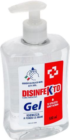 DISINFEKTO HAND GEL 500 ml