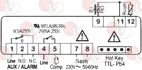 CONTROLLER DIXELL XR30CX-5N0C1