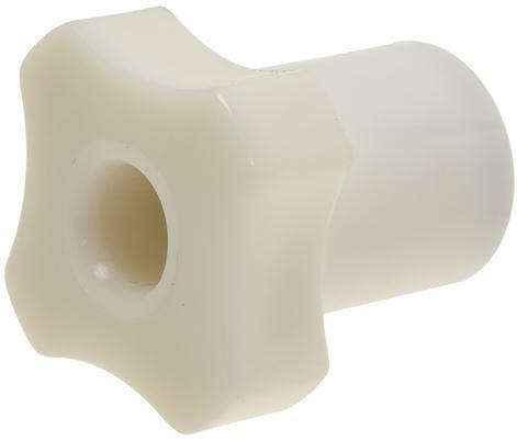 KNOB SHORT WHITE 30 mm