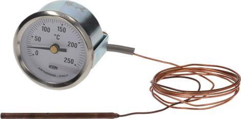 TELE-THERMOMETER WHITE ø 52 mm 0-250°C