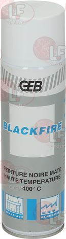 SPRAY PAINT BLACK OPAQUE GEB
