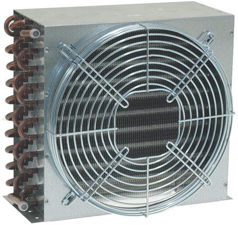AIR COOLED CONDENSER 11T 4R 1x250mm