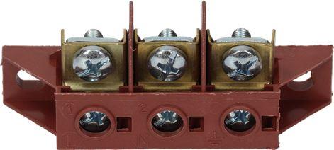 TERMINAL BLOCK 3-POLES FV110 40A 450V