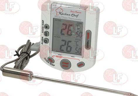 DIGITAL THERMO-TIMER 0+300°C/+32+572°F