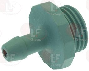 HOSE END FITTING FOR CONTAINER ø 3/8