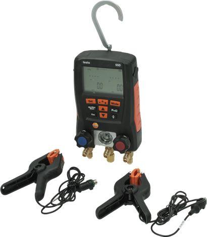 DIGITAL PRESSURE GAUGE UNIT TESTO 550-2