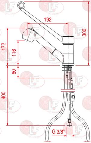 SINGLE-HOLE MIXER EXTRACTABLE SHOWER