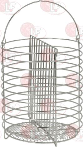 BASKET FOR HOT DOGS ø 180x220 mm