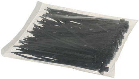 BLACK CLAMP 3.6x140 mm - 100 PCS