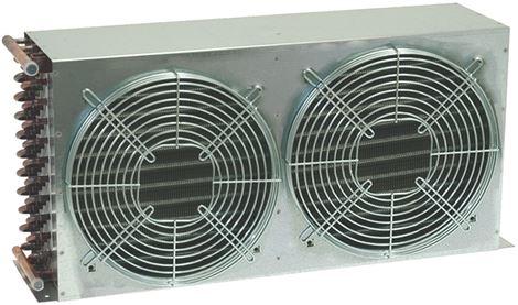 AIR COOLED CONDENSER 12T 4R 2x250mm