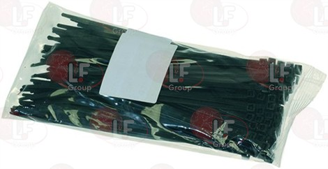 CLAMP BLACK 4.8x200 mm - 100 PCS