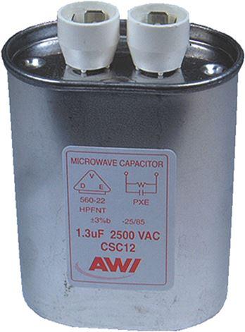 CAPACITOR µF 1,3 2500VAC
