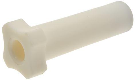 KNOB LONG WHITE 75 mm