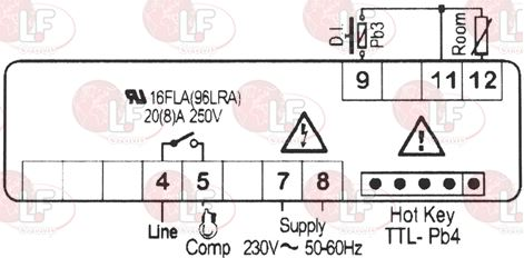CONTROLLER DIXELL XR20CX-5N0C1