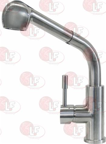 SINGLE-HOLE MIXER WITH PULL-OUT SHOWER