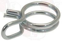 DOUBLE-WIRE CLAMP 7.8-8.3 - 100 PCS