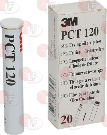 BOX WITH 20 OIL TEST STRIPS