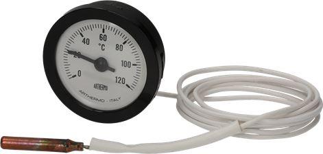TELE-THERMOMETER WHITE ø 52 mm 0-120°C
