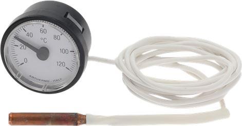 TELE-THERMOMETER WHITE ø 42 mm 0-120°C