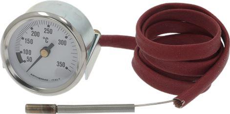 TELE-THERMOMETER WHITE ø 52 mm 50-350°C