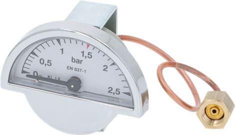PRESSURE GAUGE ø 39.5 mm 0÷2.5 bar