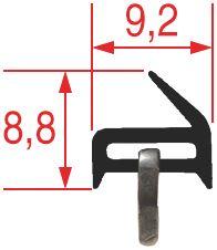 GASKET FOR OVEN DOOR 1040x340 mm