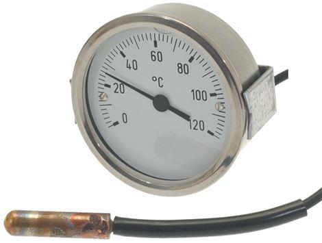 TELETHERMOMETER ø 60 mm 0-120°C