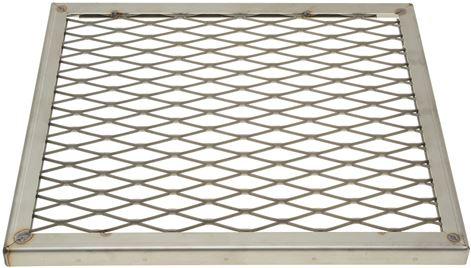 GRID LAVA ROCK ST/STEEL 390x345x20 mm