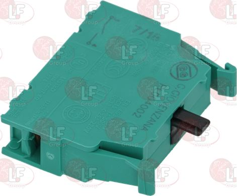 GREEN REPLACEMENT CONTACT BLOCK 16A 250V